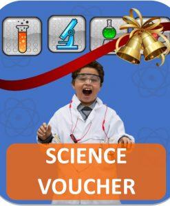 Christmas Science Voucher